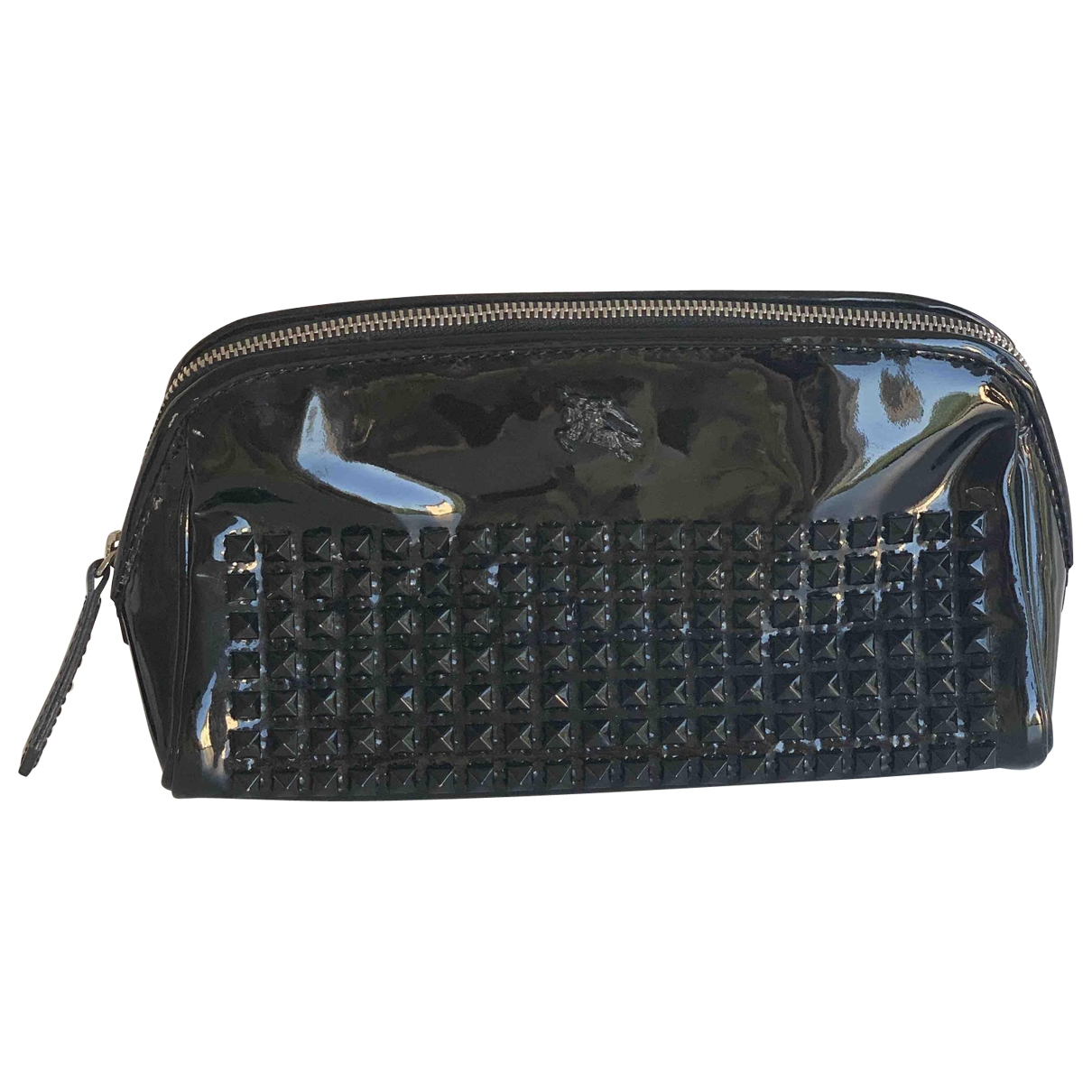 Burberry \N Black Patent leather Purses, wallet & cases for Women \N