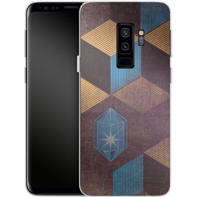 Samsung Galaxy S9 Plus Silikon Handyhuelle - Cubes Gems von Brent Williams
