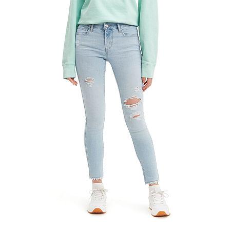 Levi's 710 Super Skinny Jeans, 29 , Blue