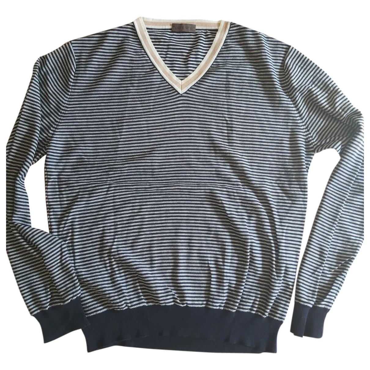 Loewe \N Pullover.Westen.Sweatshirts  in  Bunt Wolle
