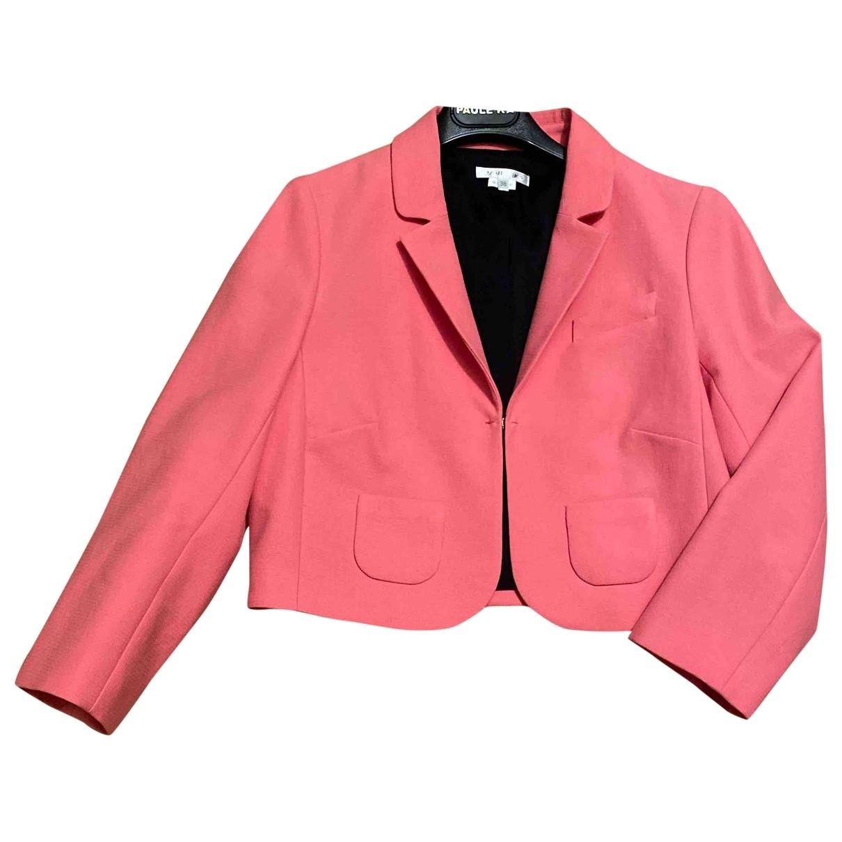 Paule Ka - Veste   pour femme en coton - rose