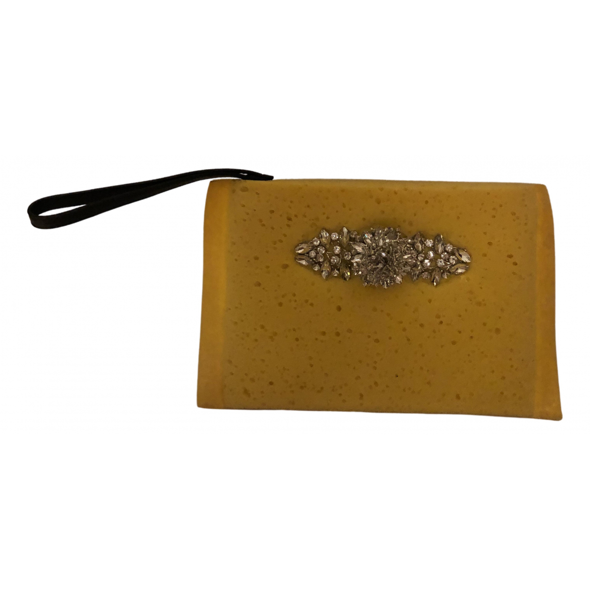 Christopher Kane \N Yellow Clutch bag for Women \N