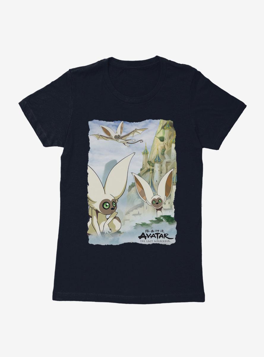 Avatar: The Last Airbender Flight Of Momo Womens T-Shirt