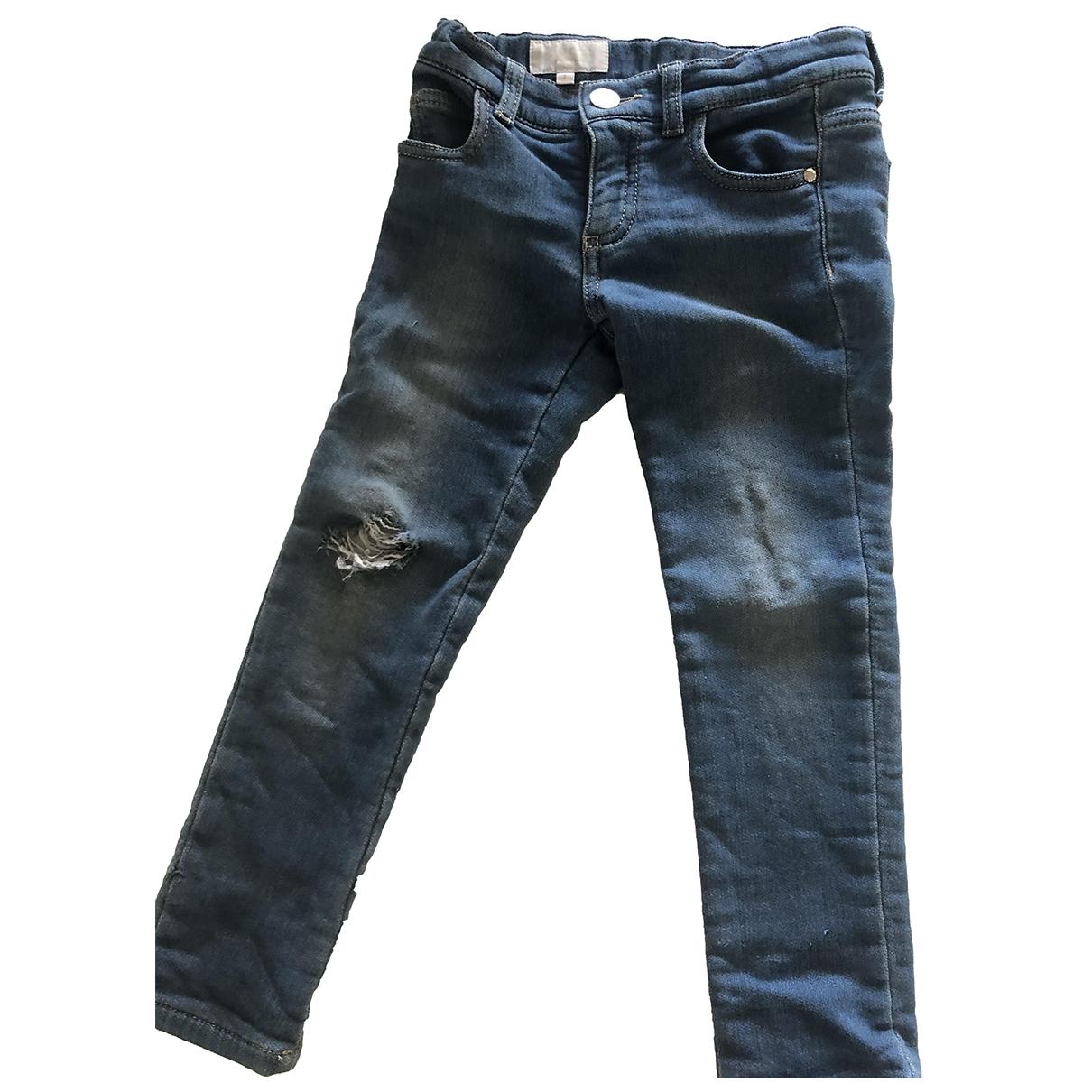 Gucci \N Hose in  Blau Denim - Jeans