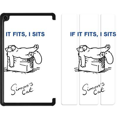 Amazon Fire 7 (2017) Tablet Smart Case - If It Fits, I Sits von Simons Cat