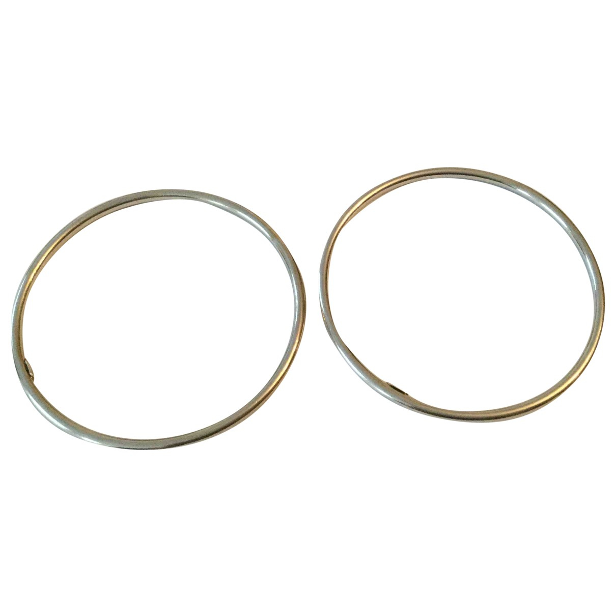 Non Signé / Unsigned Jonc Silver Silver bracelet for Women N