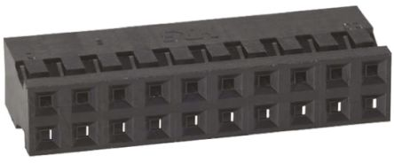 Hirose , A3B Female Connector Housing, 2mm Pitch, 20 Way, 2 Row (10)