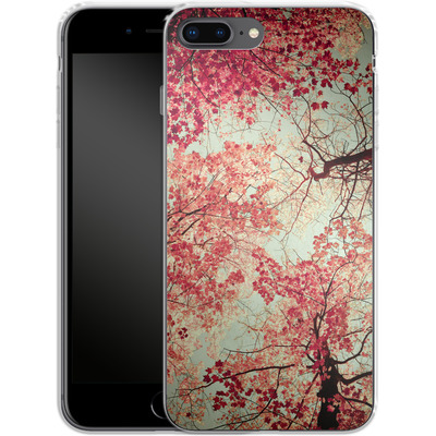 Apple iPhone 8 Plus Silikon Handyhuelle - Autumn Inkblot von Joy StClaire