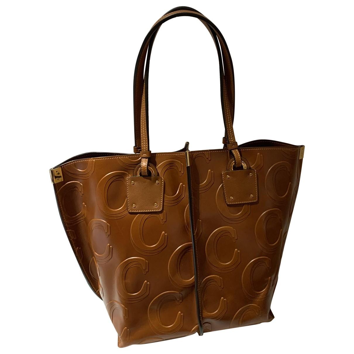 Chloé \N Camel Leather handbag for Women \N