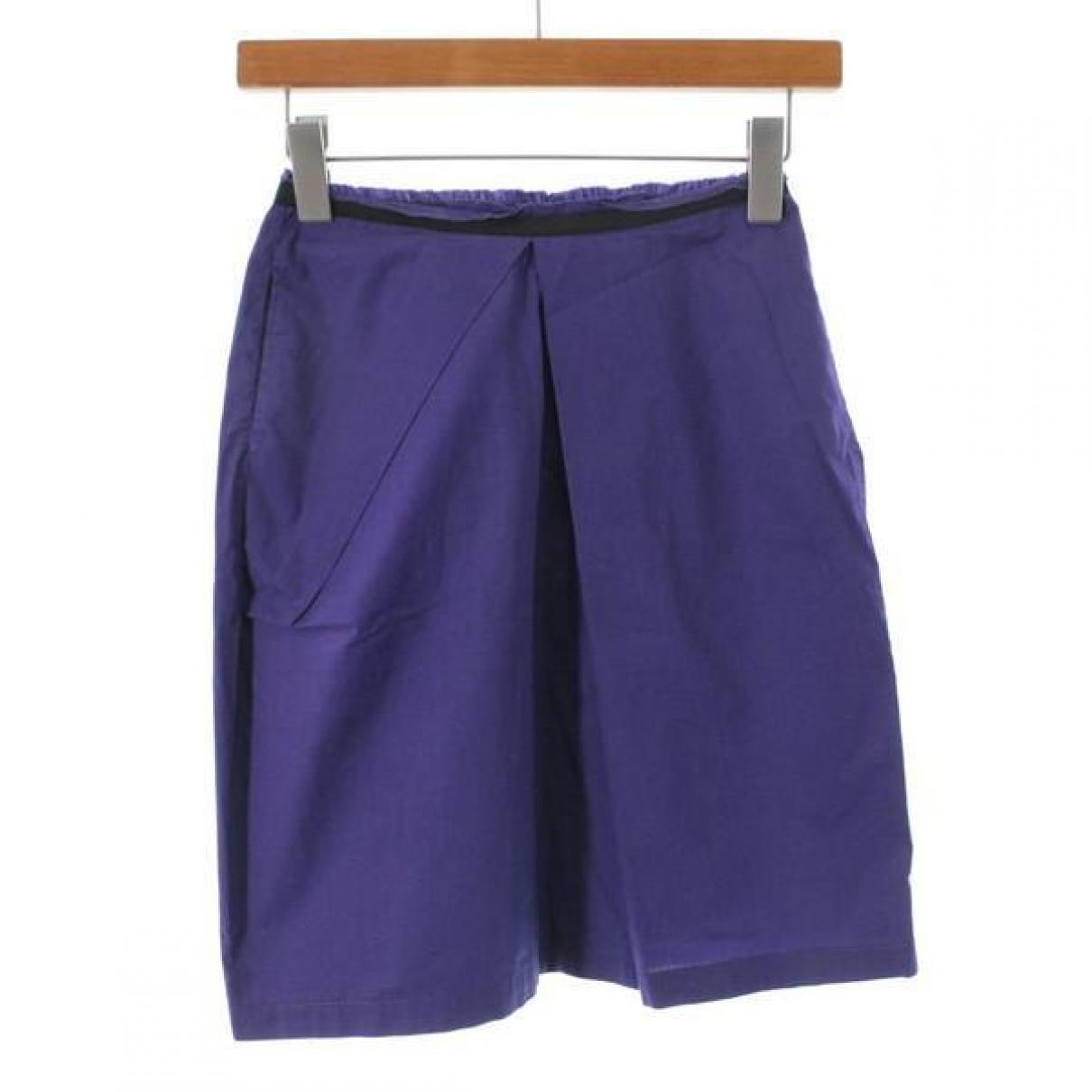 Marni \N Shorts in  Lila Baumwolle