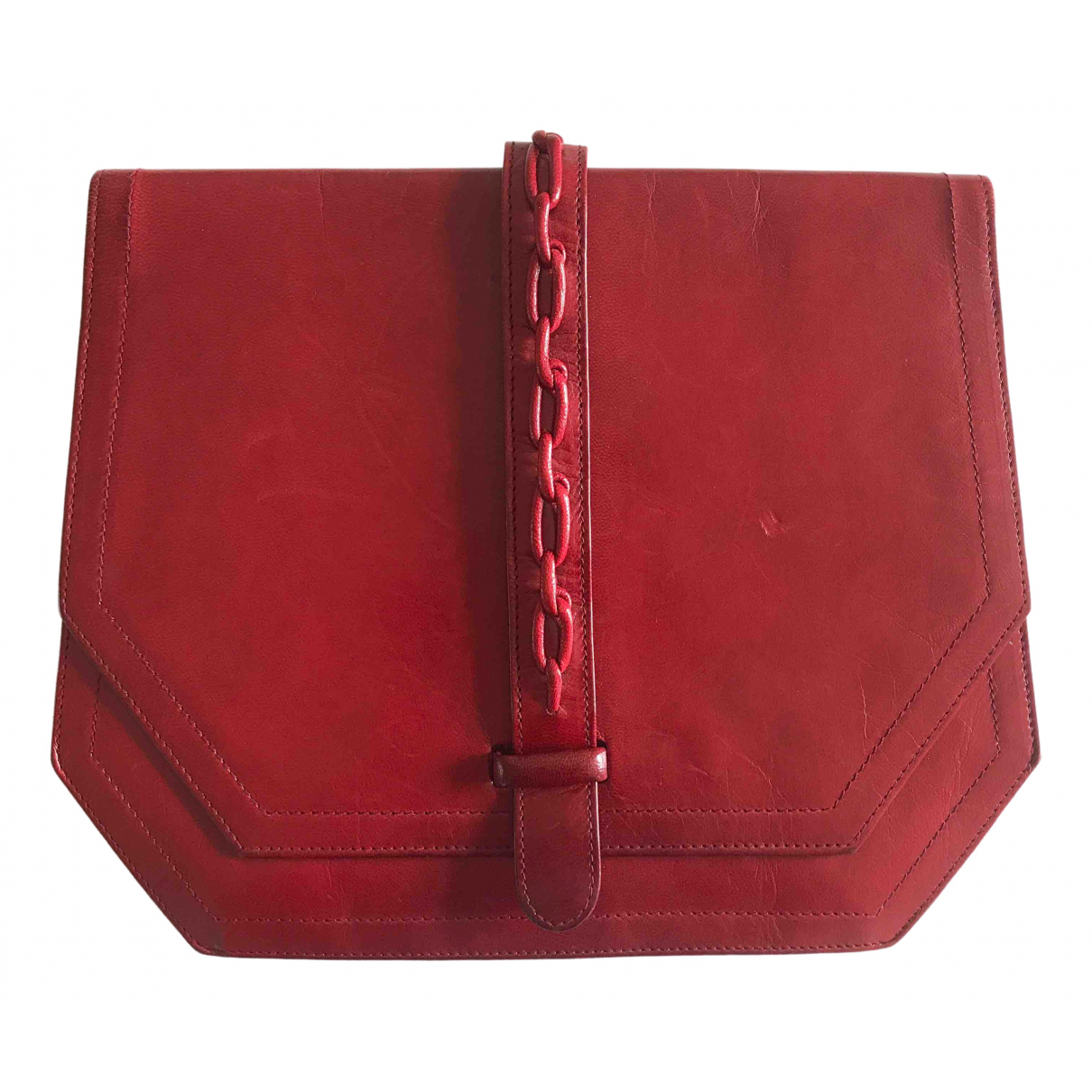 Dior \N Red Leather Clutch bag for Women \N