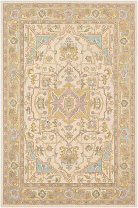Joli JOI-1008 2' x 3' Rectangle Traditional Rug in Olive  Butter  Mauve  Taupe