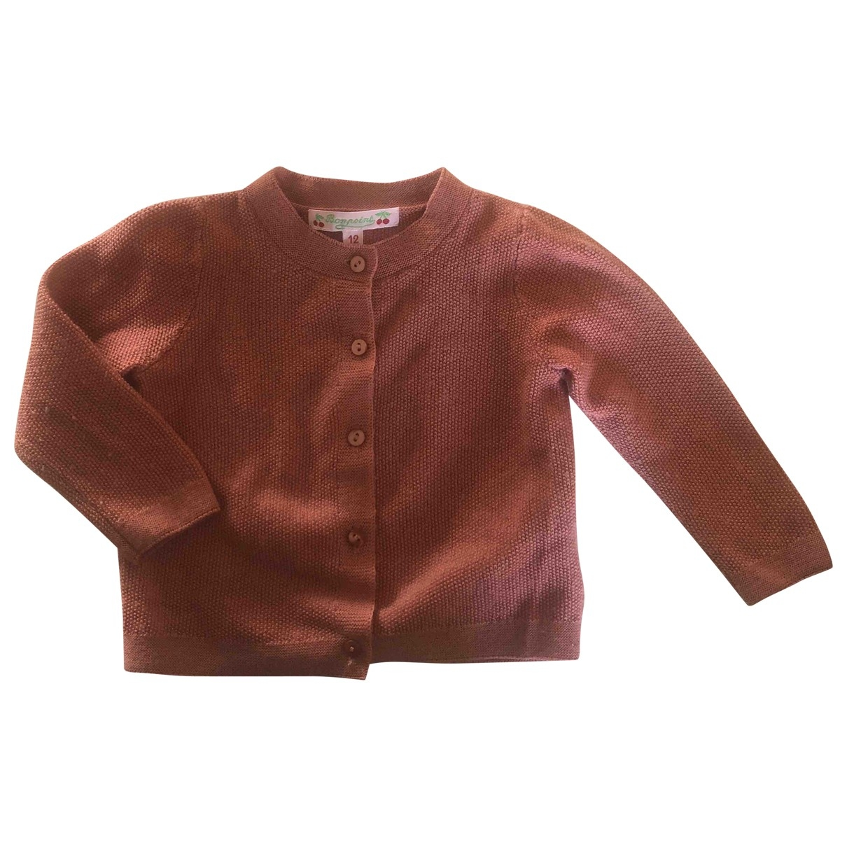 Bonpoint \N Pink Wool Knitwear for Kids 12 months - up to 74cm FR