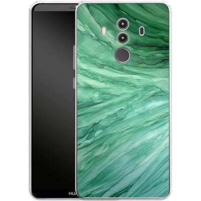 Huawei Mate 10 Pro Silikon Handyhuelle - Emerald von Becky Starsmore