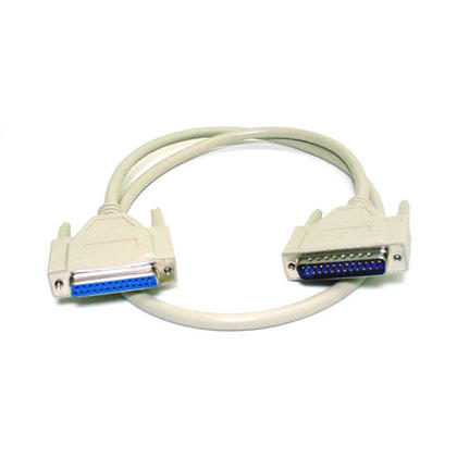 DB25 M/F Molded Cable ( 7 lengths available) - Monoprice - 6Ft