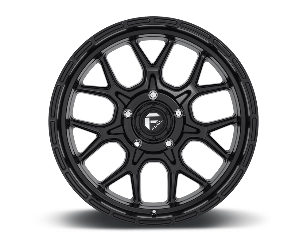 Fuel D670 Tech Matte Black 1-Piece Cast Wheel 17x9 5x127 01mm