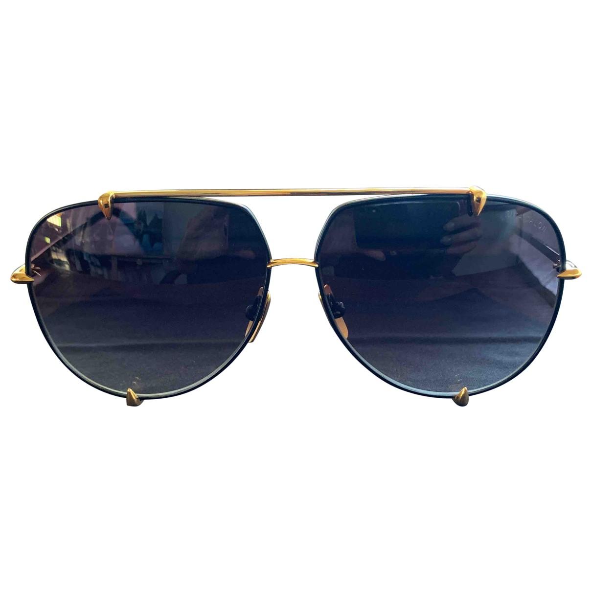 Dita \N Black Metal Sunglasses for Men \N