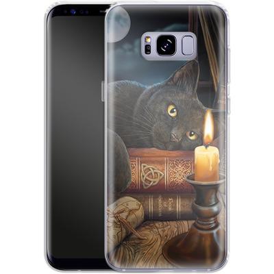 Samsung Galaxy S8 Plus Silikon Handyhuelle - Witching Hour von Lisa Parker
