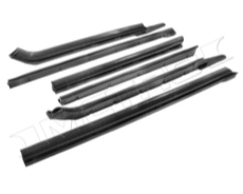 Metro Moulded RR 1811-B Roof Rail Seal GM B Body Convertible 1966-1970 | Chevrolete 1969-1970