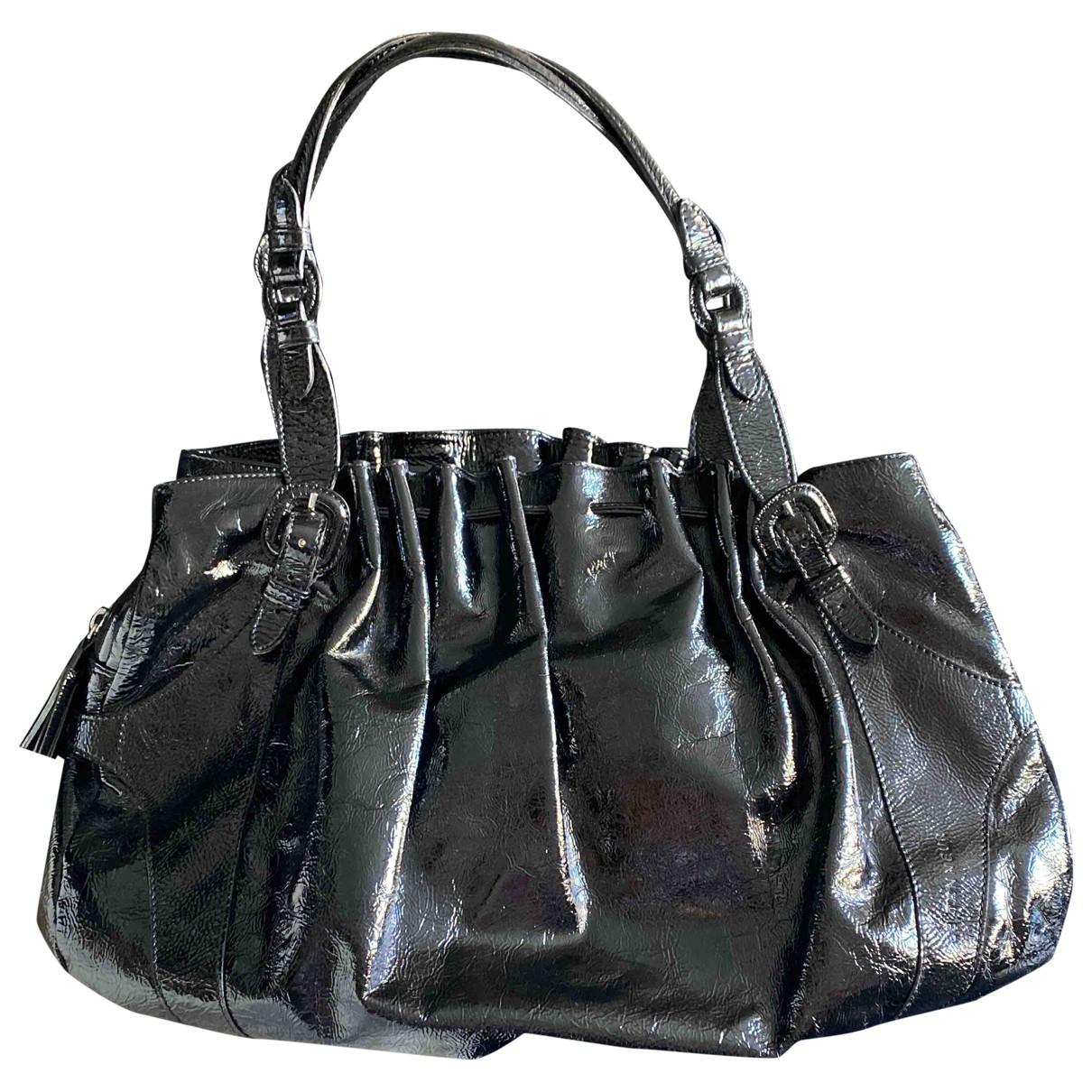 Le Tanneur \N Black Leather handbag for Women \N