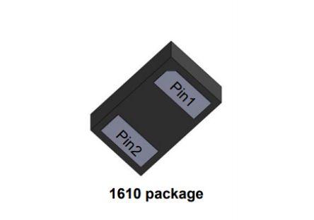 STMicroelectronics , 5.5V Zener Diode SMT 2-Pin QFN (8000)