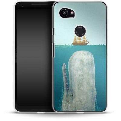 Google Pixel 2 XL Silikon Handyhuelle - The Whale von Terry Fan