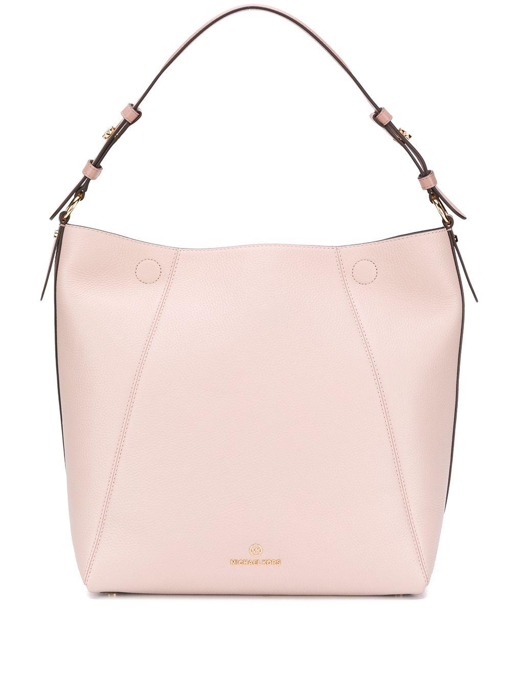 Lucy Large Leather Shoulder Bag