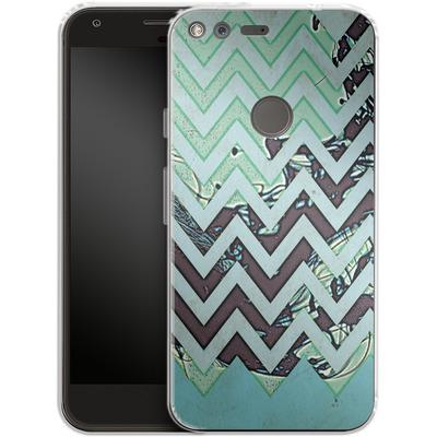 Google Pixel XL Silikon Handyhuelle - Electric Ink von caseable Designs