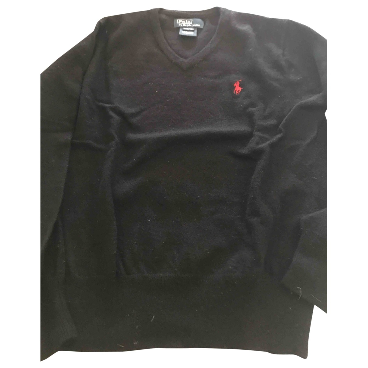 Polo Ralph Lauren \N Black Wool Knitwear for Kids 8 years - up to 128cm FR