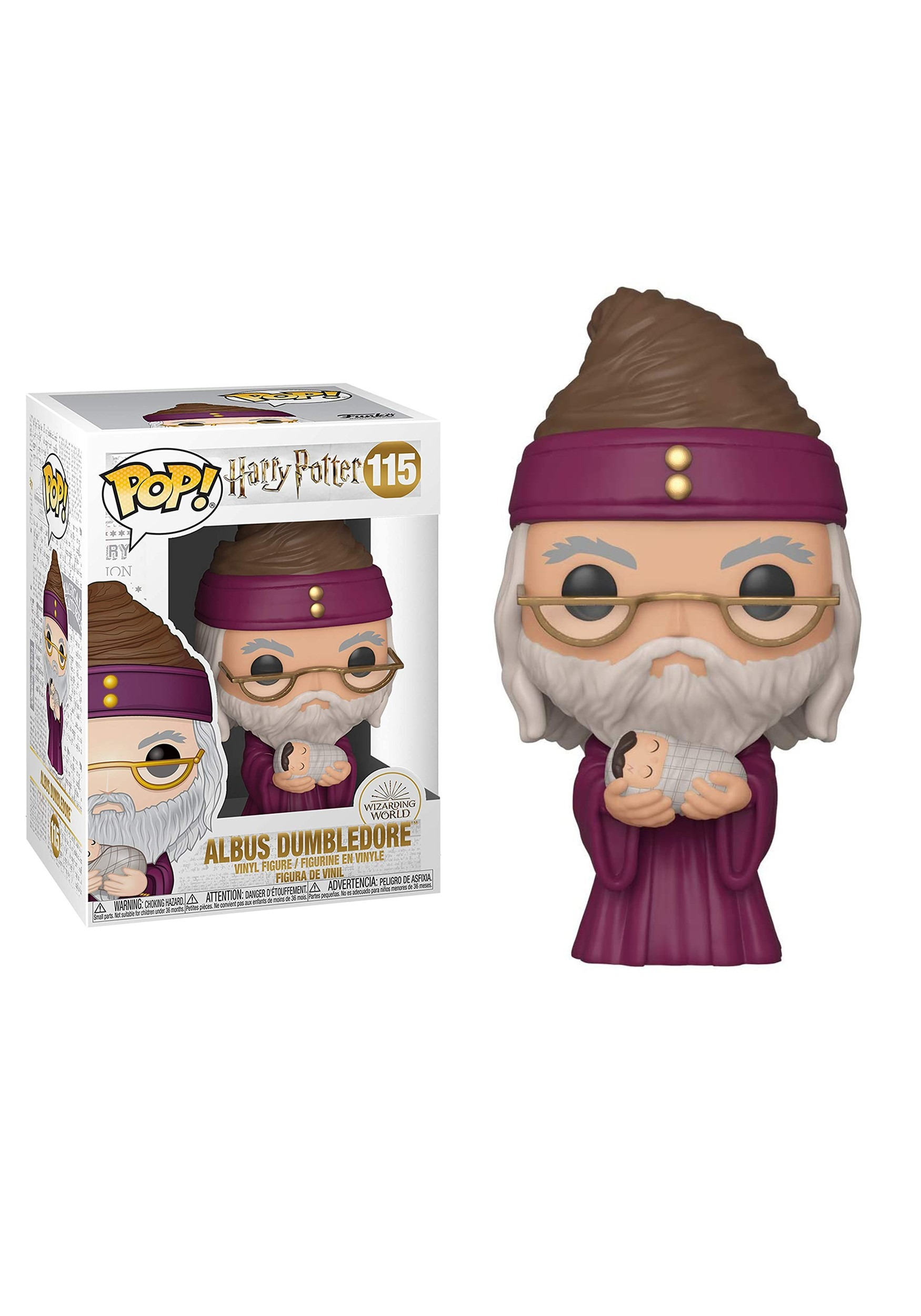 POP HP: HP- Dumbledore w/Baby Harry Vinyl Figure