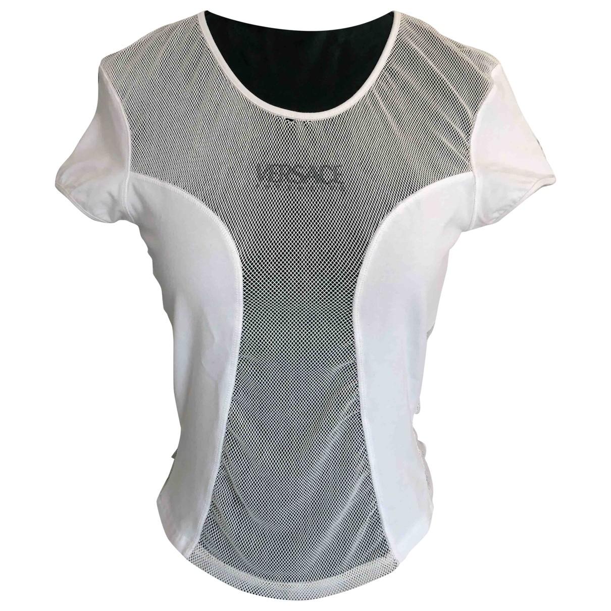 Versace - Top   pour femme - blanc