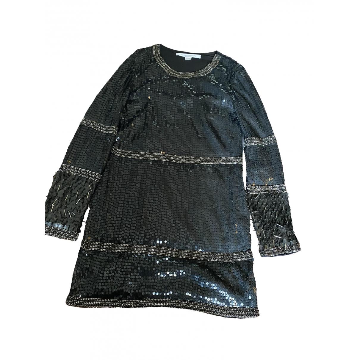 Mini vestido de Con lentejuelas Diane Von Furstenberg