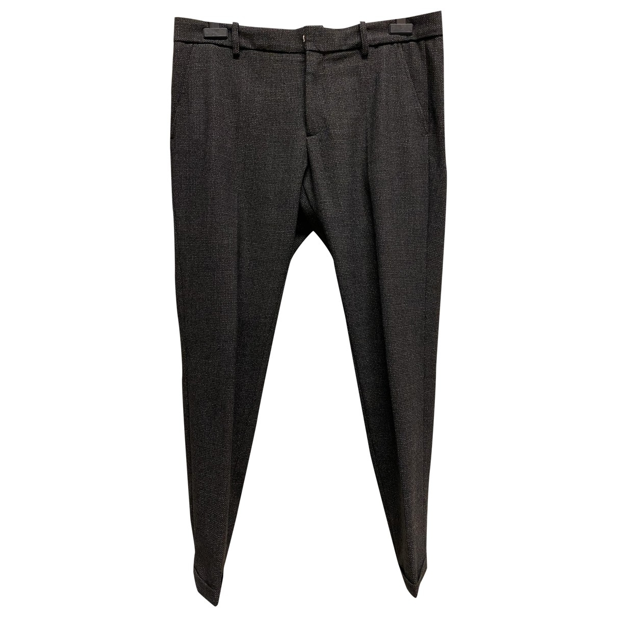 Antonio Marras \N Anthracite Trousers for Men 52 IT
