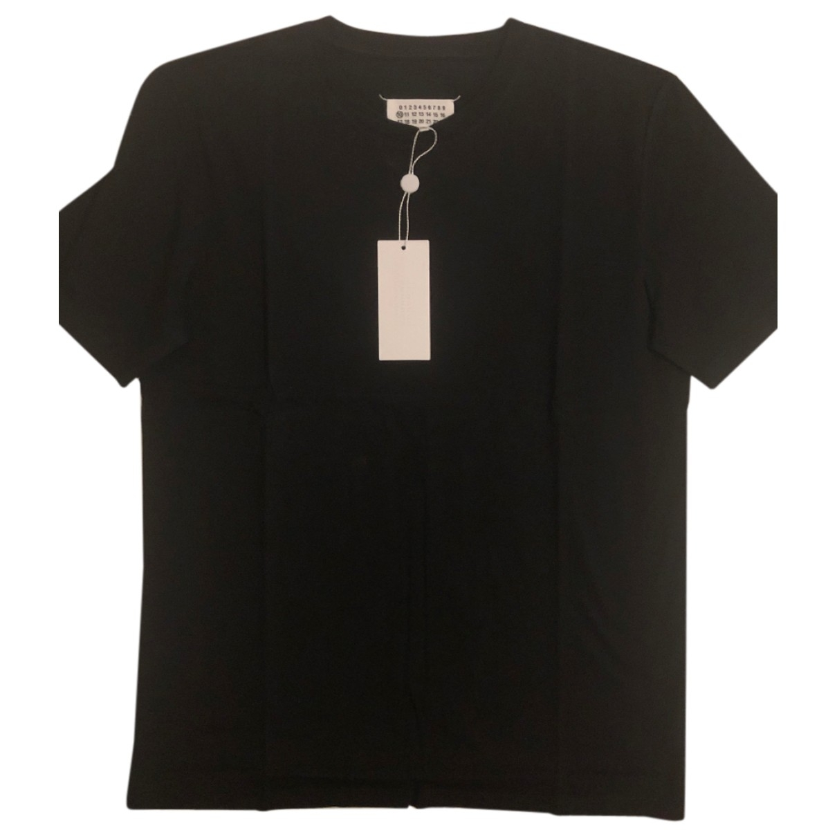 Maison Martin Margiela \N Black Cotton T-shirts for Men L International