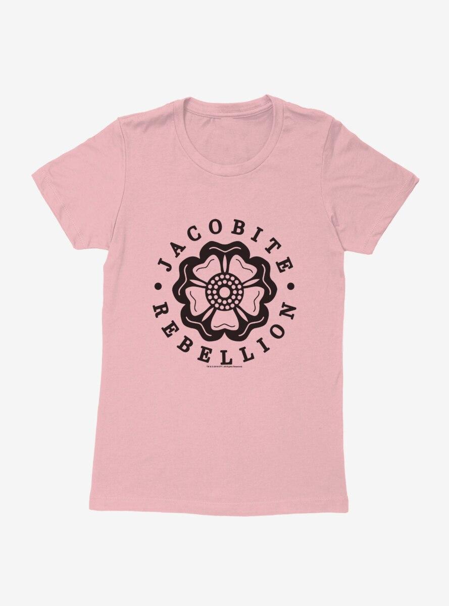 Outlander Jacobite Rebellion Emblem Womens T-Shirt