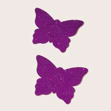 1pair Butterfly Nipple Cover