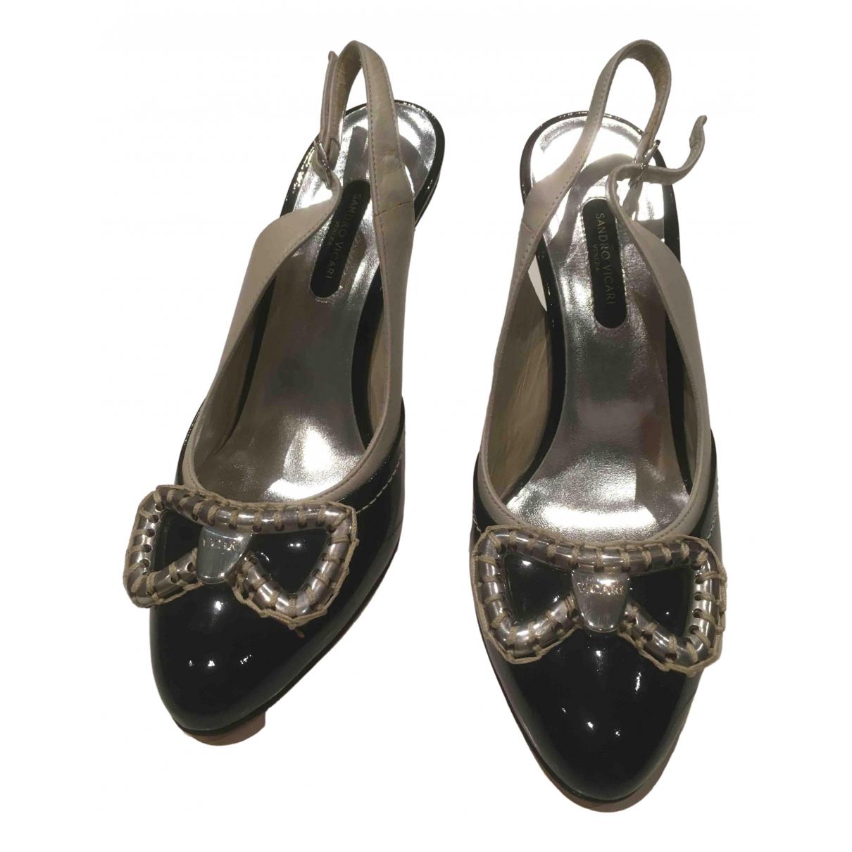 Sandro \N Multicolour Leather Heels for Women 36 EU