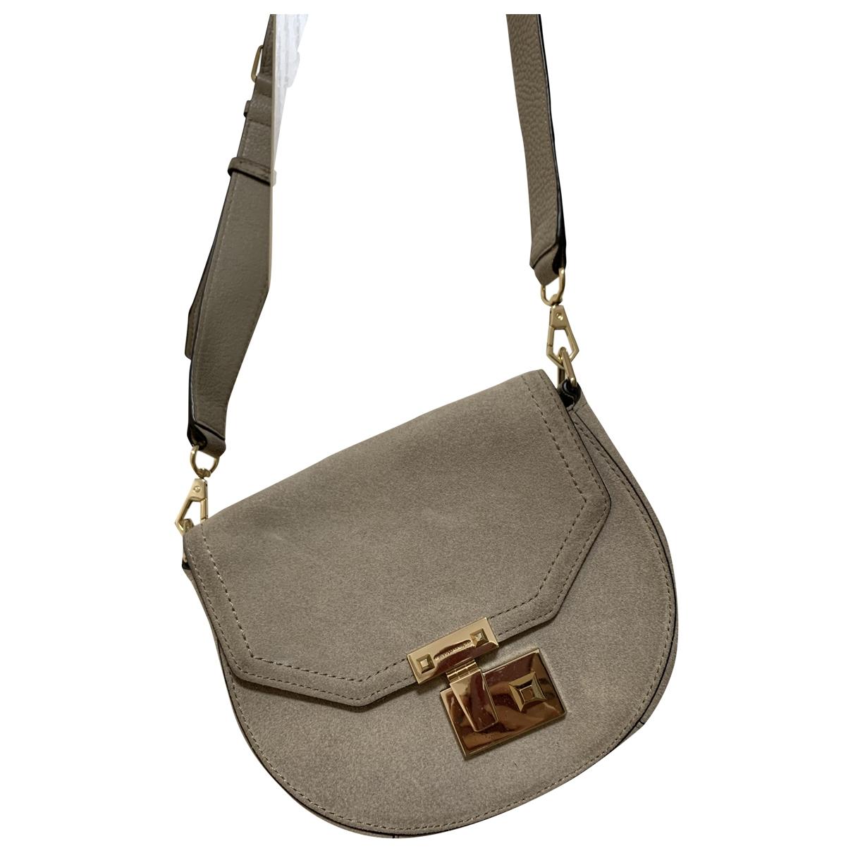 Rebecca Minkoff \N Handtasche in  Beige Veloursleder