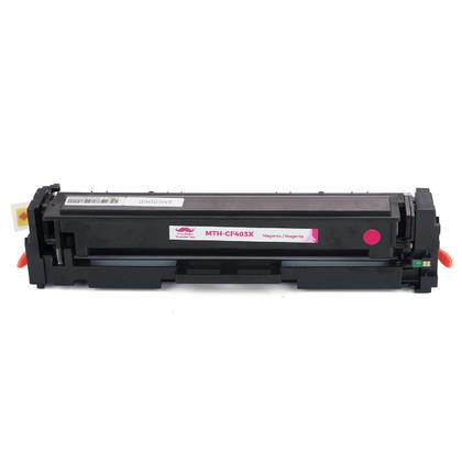 Compatible HP 201X CF403X cartouche de toner magenta haute capacité - Moustache®
