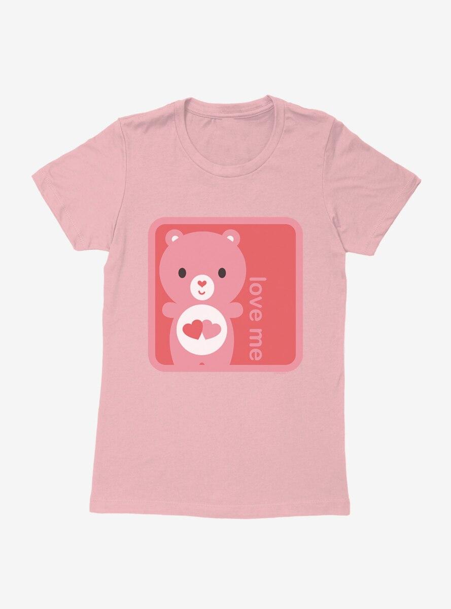 Care Bears Cartoon Love A Lot Love Me Fill Womens T-Shirt