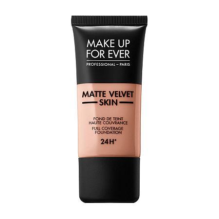 MAKE UP FOR EVER Matte Velvet Skin Full Coverage Foundation, One Size , Beige