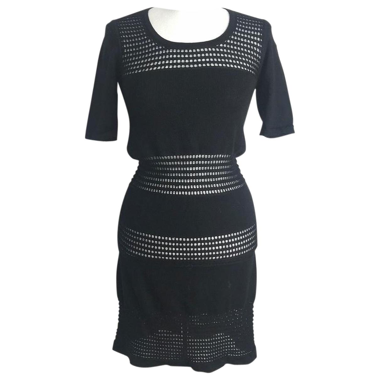 Rodier \N Kleid in  Schwarz Wolle