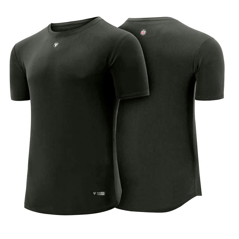 Gratuite RDX T-shirt Stringer Et Gilet Petite Gris Polyester