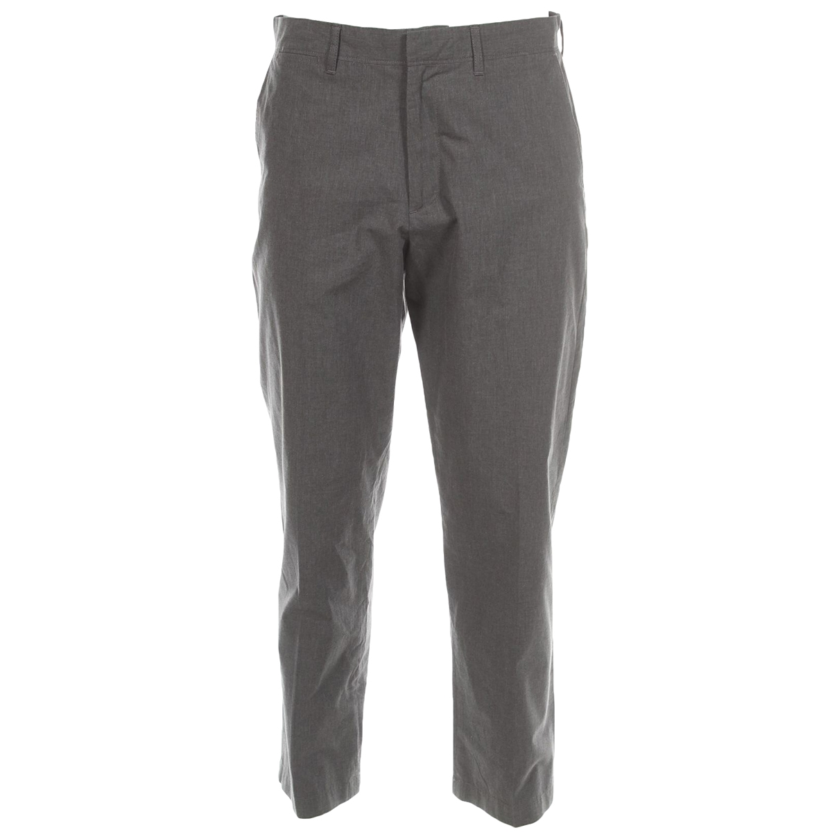 J.crew \N Grey Cotton Trousers for Men 32 UK - US