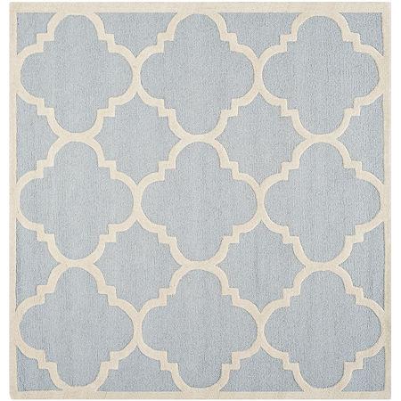 Safavieh Roger Geometric Hand Tufted Wool Rug, One Size , Blue
