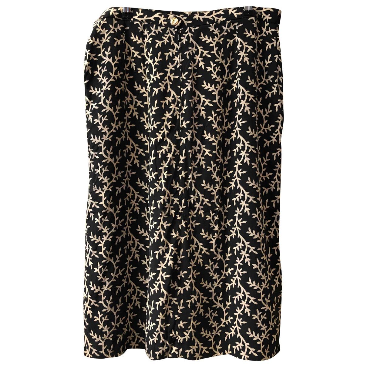 Chanel - Jupe   pour femme en soie - marine
