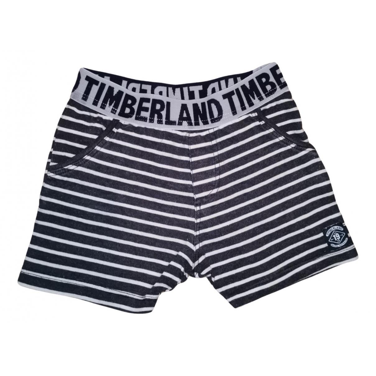 Timberland - Short   pour enfant en coton - multicolore