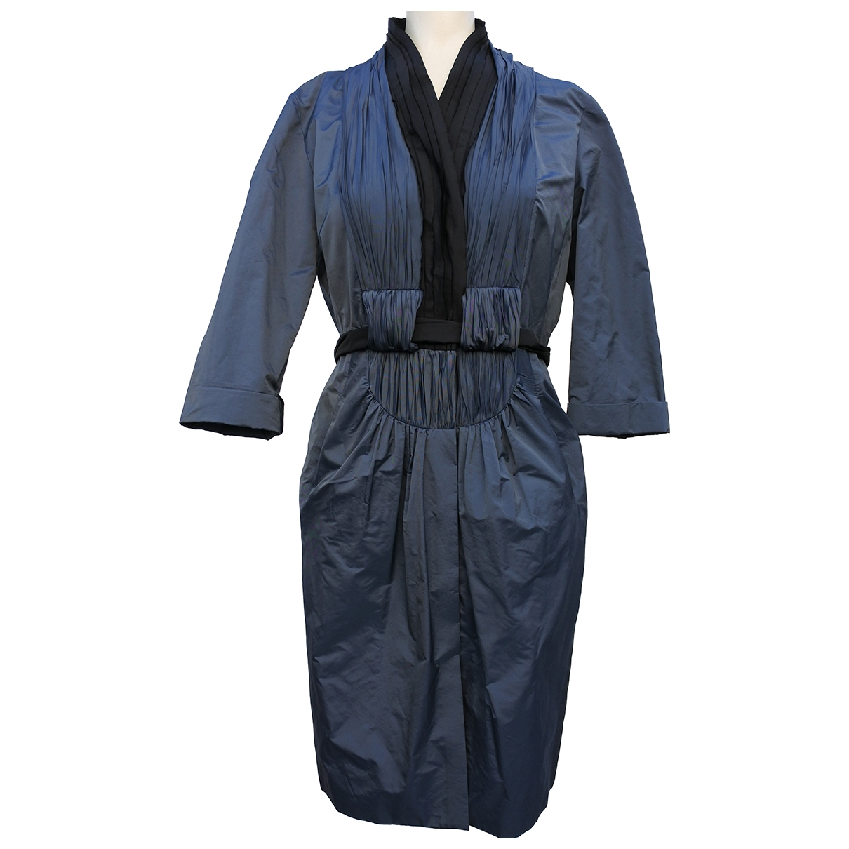 Hoss Intropia \N Kleid in  Blau Polyester