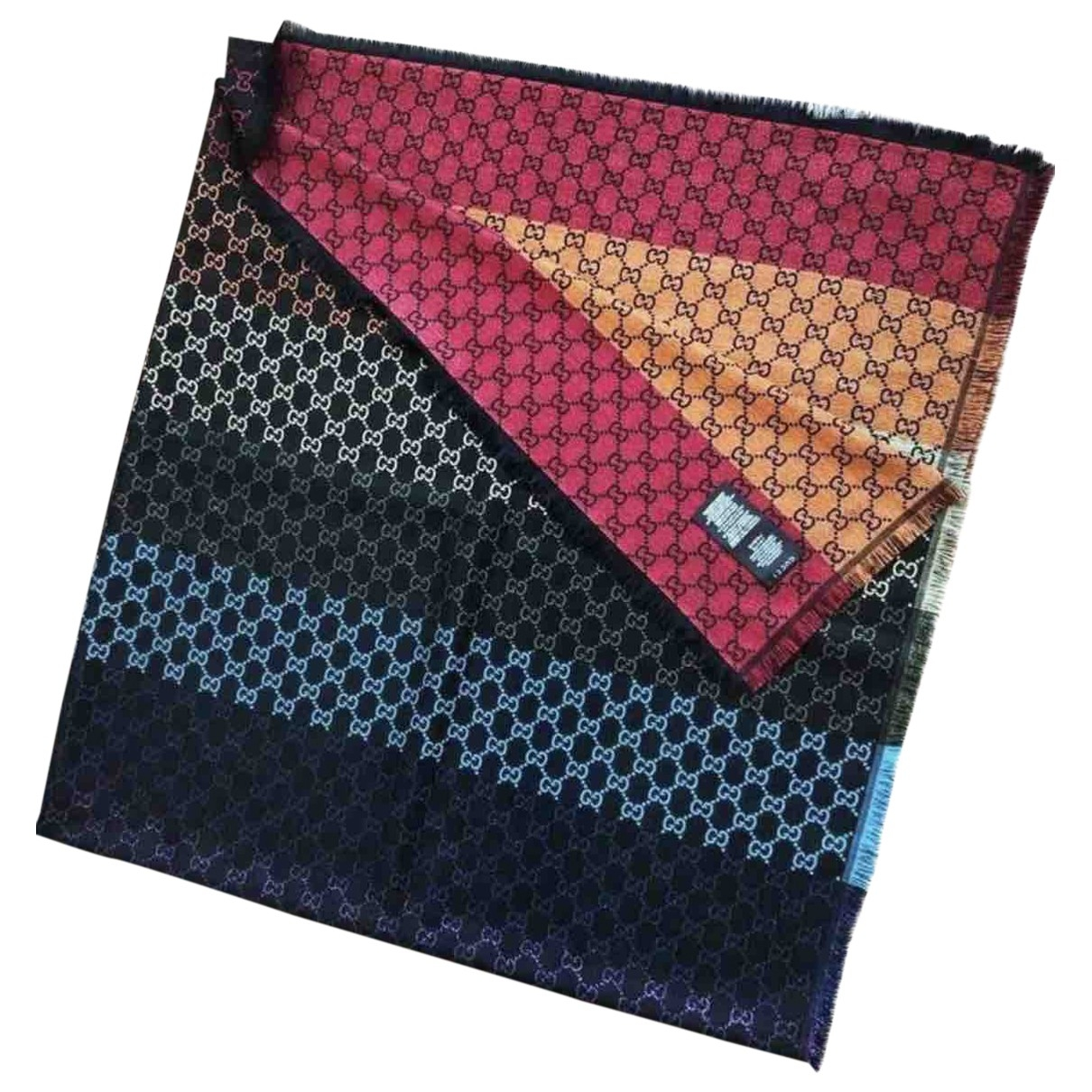 Gucci \N Multicolour Wool scarf & pocket squares for Men \N