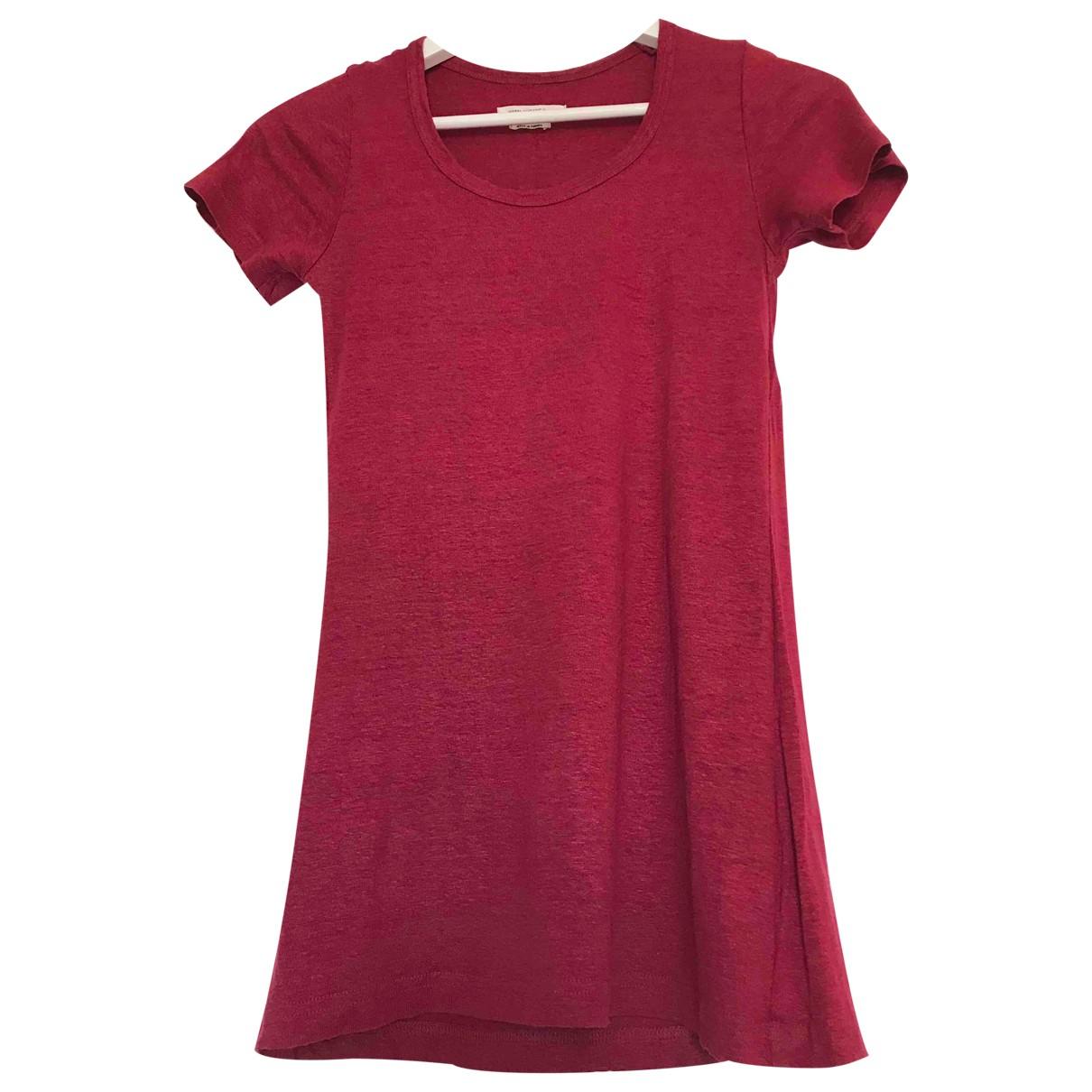 Isabel Marant Etoile - Top   pour femme en lin - rouge